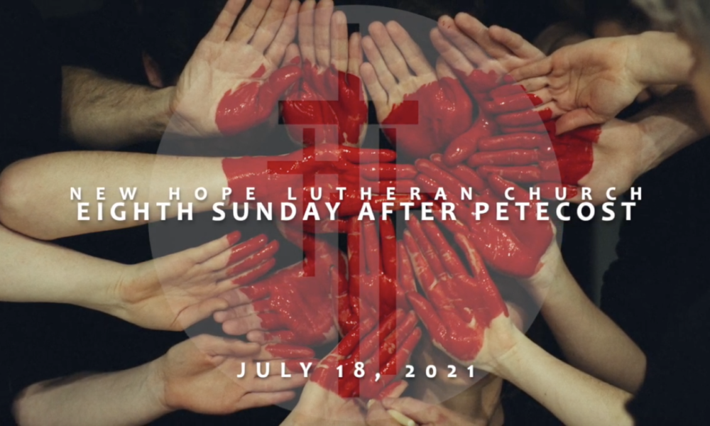 Eighth Sunday after Pentecost 2021