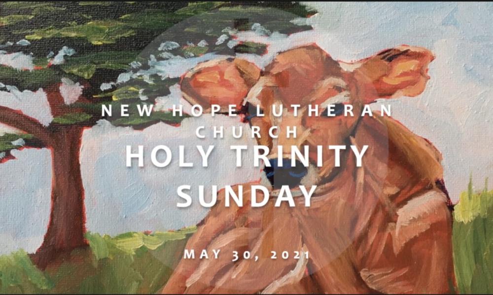 Holy Trinity Sunday 2021